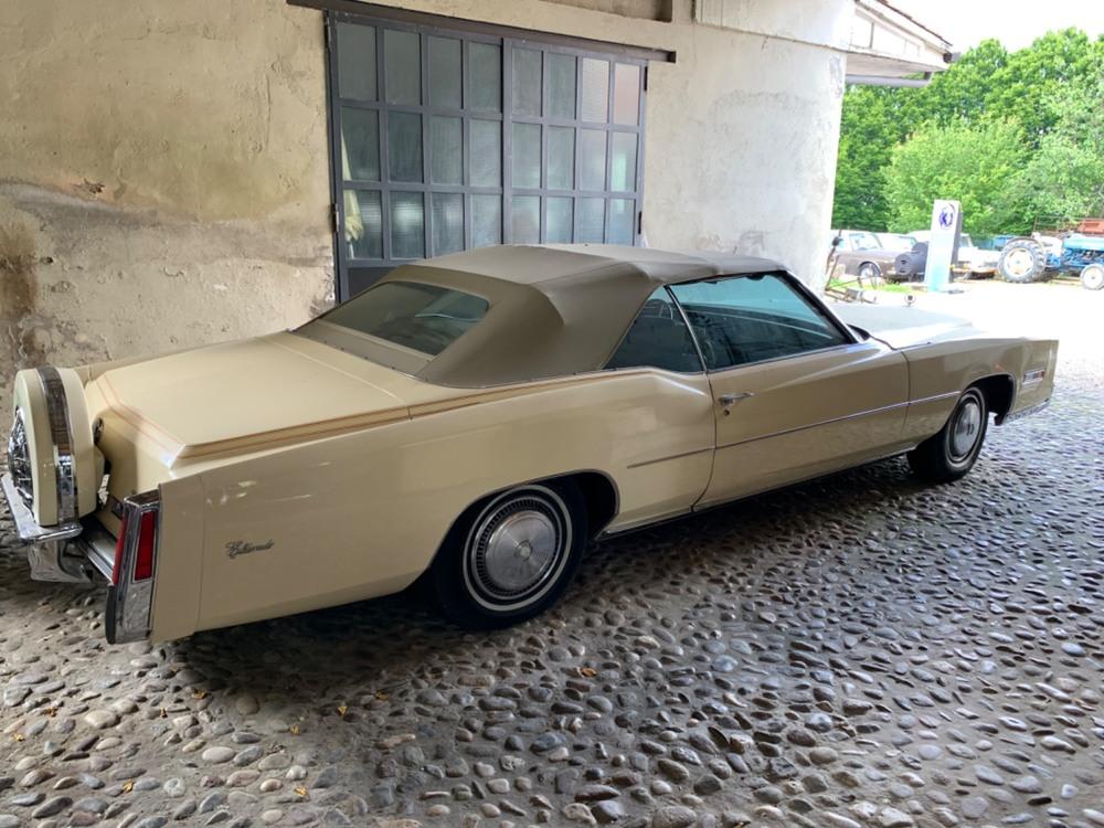 Eldorado Cabrio d'epoca del 1976 a Roncoferraro (5)