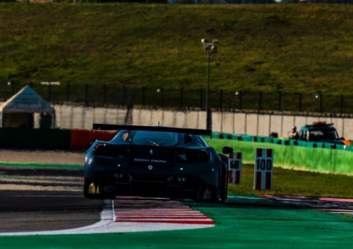 Valentino Rossi a Misano per un test con la Ferrari  (4)