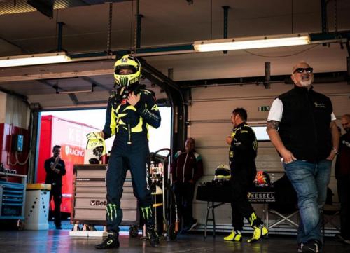 Valentino Rossi a Misano per un test con la Ferrari  (6)