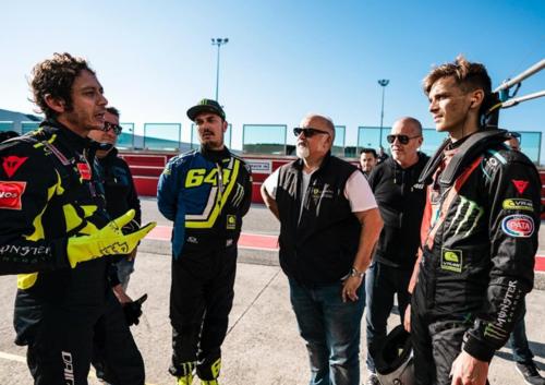 Valentino Rossi a Misano per un test con la Ferrari  (7)