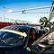 Valentino Rossi a Misano per un test con la Ferrari