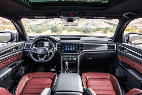 Volkswagen gamma SUV 2020: dopo Touareg viene Teramont? (7)