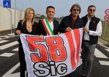 Inagurata a Misano Via Marco Simoncelli