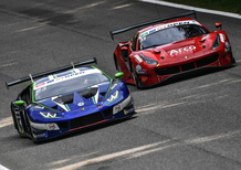 Lamborghini: titolo costruttori nell'IMSA GTD e vittoria in GT Open