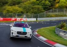 Jaguar I-Pace: taxi elettrico per un giro al Nürburgring