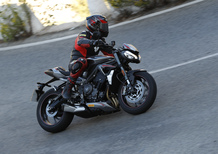 Triumph Street Triple RS TEST: più bella, più muscolosa