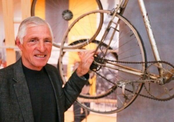 Francesco Moser: La bicicletta elettrica è una grande invenzione