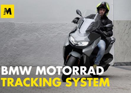 BMW Motorrad Tracking System: la prova di Andrea Galeazzi