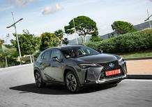 Lexus UX Hybrid: gamma rinnovata con più tecnologia