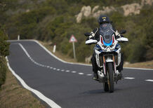 Honda Africa Twin CRF1100L Adventure Sports: TEST, ora è un'ammiraglia