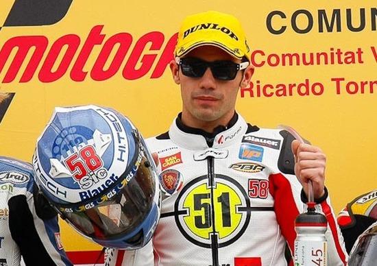 Pirro vince in Moto2 per Simoncelli