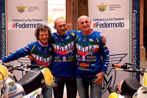 Sei Giorni di Enduro. Passeri, Rinaldi e Sala in sella in vista del Trofeo Vintage Veterans (4)