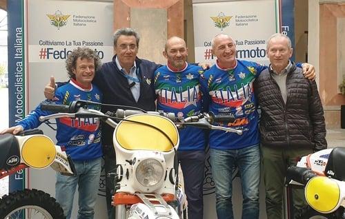 Sei Giorni di Enduro. Passeri, Rinaldi e Sala in sella in vista del Trofeo Vintage Veterans (3)