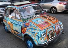 La Fiat 500 dedicata a Napoli, l'idea di un ristoratore italiano a Washington