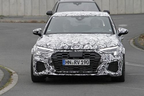 Audi RS3 2020, le foto spia (2)