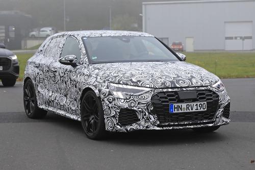 Audi RS3 2020, le foto spia (4)