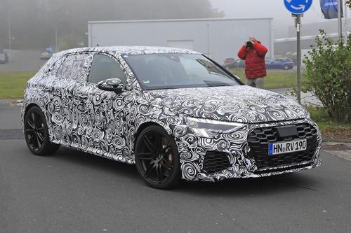 Audi RS3 2020, le foto spia (6)