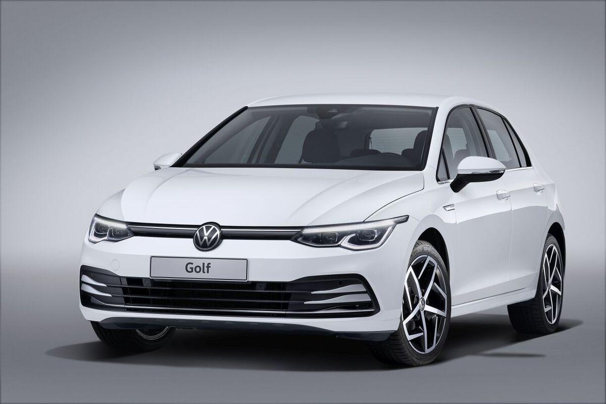 nuova volkswagen golf 8 eccola anche ibrida dal 2020. Black Bedroom Furniture Sets. Home Design Ideas