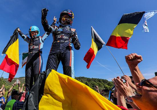 WRC 2019. Spagna Catalunya. Neuville Vince il Rally. Tanak è Campione del Mondo