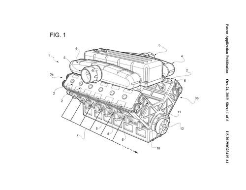 Ferrari: depositato brevetto per il nuovo V12