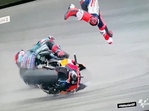 MotoGP 2019. Marc Marquez: Non volevo dare fastidio a Quartararo (7)
