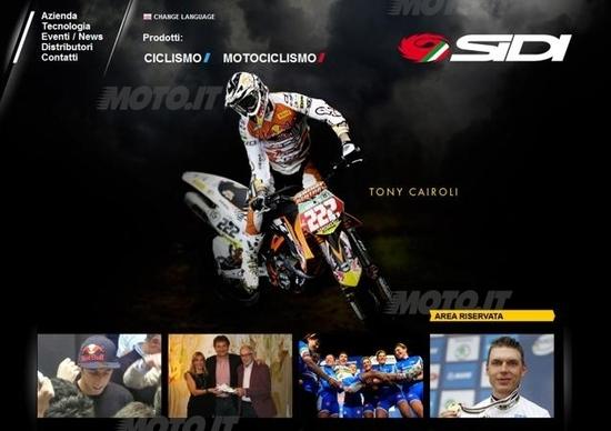 Nuovo sito Web per SIDI Sport