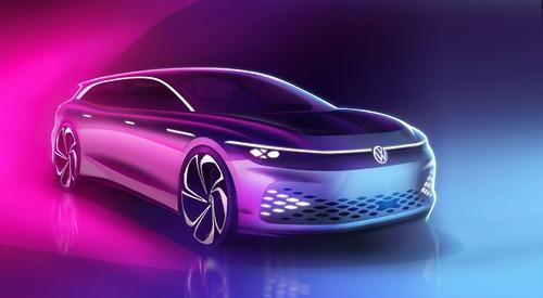Volkswagen ID. Space Vizzion, debutto a Los Angeles