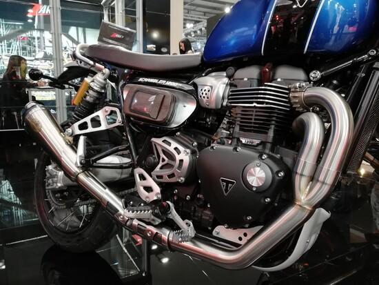 Lo Zard su misura per la Triumph Scrambler 1200
