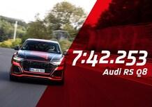 Audi RS Q8, è record tra i SUV al Nürburgring [Video]