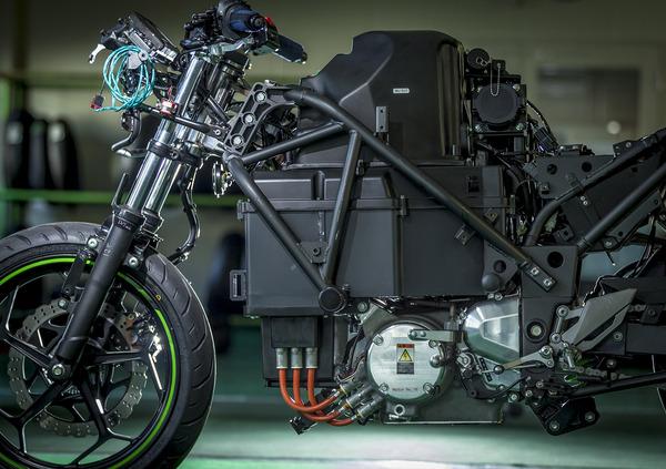 Kawasaki annuncia larrivo di una Ninja elettrica