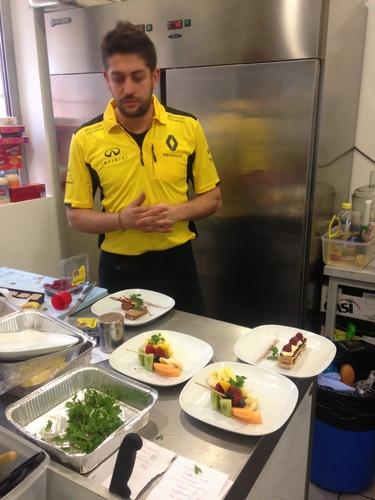 F1, Gp Russia 2016: dalle cucine Renault F.1, Max Portioli e i segreti di Sochi! (2)