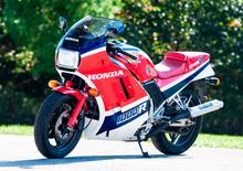 Honda VF1000R: una delle regine degli anni '80 all'asta