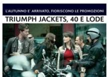 Promozioni abbigliamento e accessori Triumph