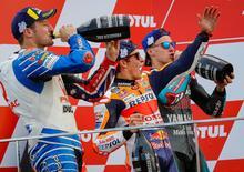 MotoGP 2019. Le voci dei piloti sul podio di Valencia