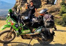 Si ferma a Catania il giro del mondo in moto: rubata la KTM 690 Enduro R all'influencer messicano