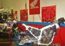 Come ti restauro l'Honda Africa Twin 650