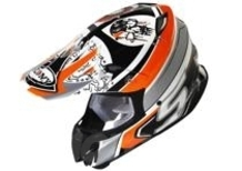 Nuovo casco offroad Suomy Mr Jump Lazyboy Orange