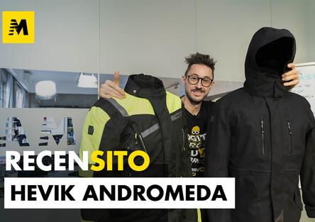 Hevik Andromeda. Recensione giacca da moto urban