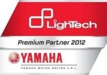 LighTech rinnova la partnership con Yamaha Moto Racing per il 2012