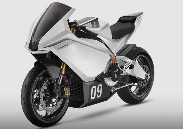 Apex, la moto elettrica secondo Segway