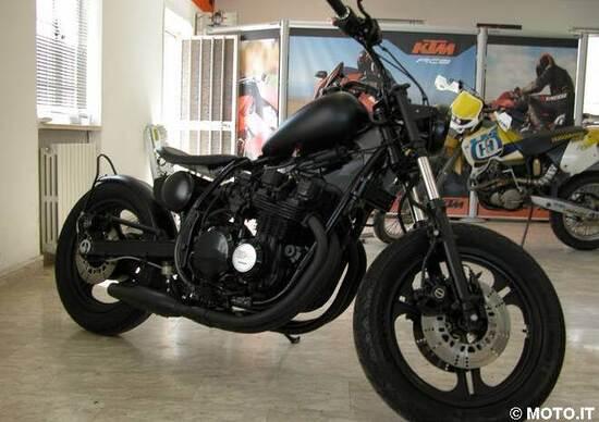Le Strane di Moto.it: Kawasaki GPZ 750 Bobber