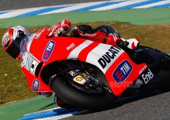 Prima giornata di test CRT a Jerez