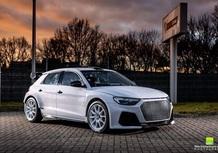 Audi A1 WRC: la versione da rally con un po' di RS3