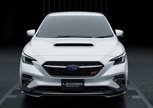 Subaru Levorg STI Sport, la concept al Salone di Tokyo 2020