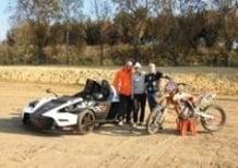 Una nuova KTM (a 4 ruote) per Tony Cairoli