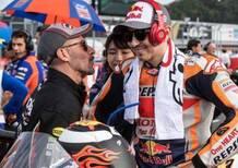 Max Biaggi MotoGP Legend 2020 insieme a Jorge Lorenzo