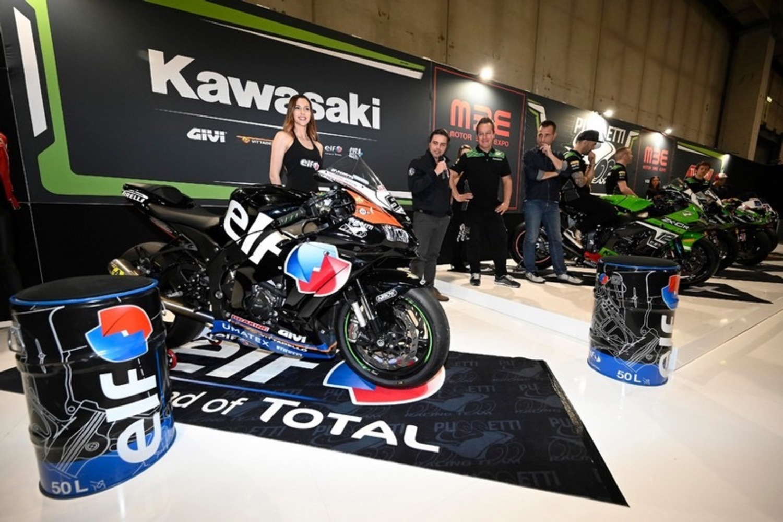 Presentato all' MBE di Verona il Kawasaki Puccetti Racing 2020