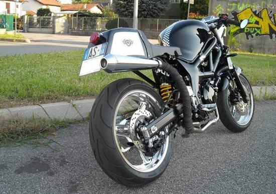 Le Strane di Moto.it: Suzuki SV 650 Café Racer