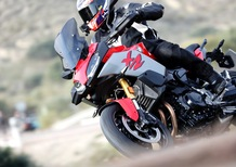 BMW F900 XR. Crossover accessibile