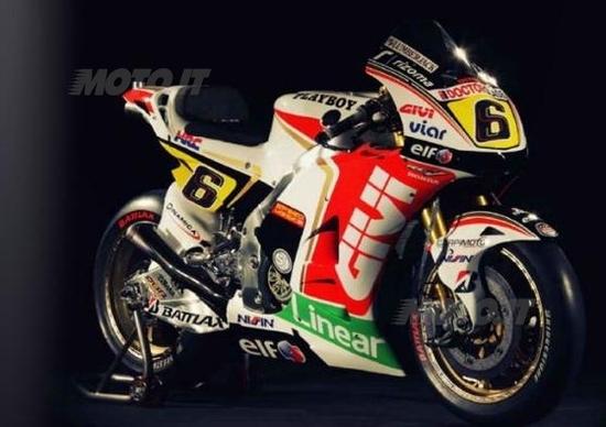 MotoGP Honda LCR presenta il team 2012